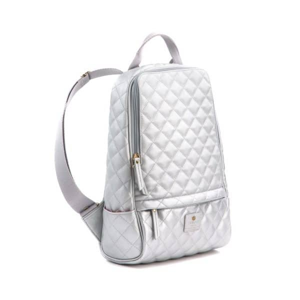 Gunas New York - Cougar Quilted Silver zijkant