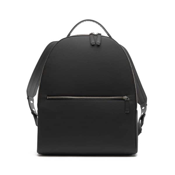 Vegan rugzak - This is Lo First edition backpack zwart voorkant