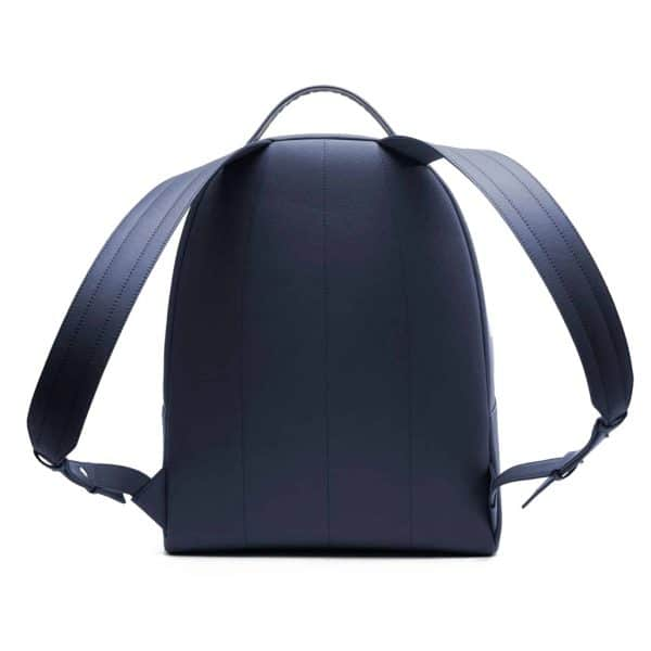 Vegan rugzak - This is Lo First edition backpack blauw achterkant
