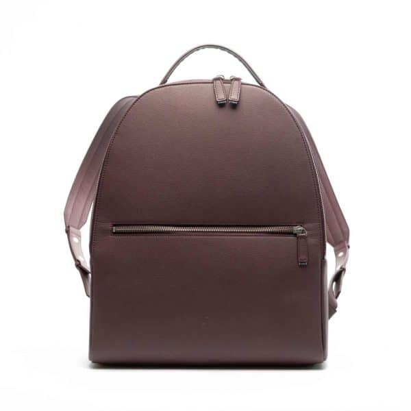 Vegan rugzak - This is Lo First edition backpack maroon voorkant